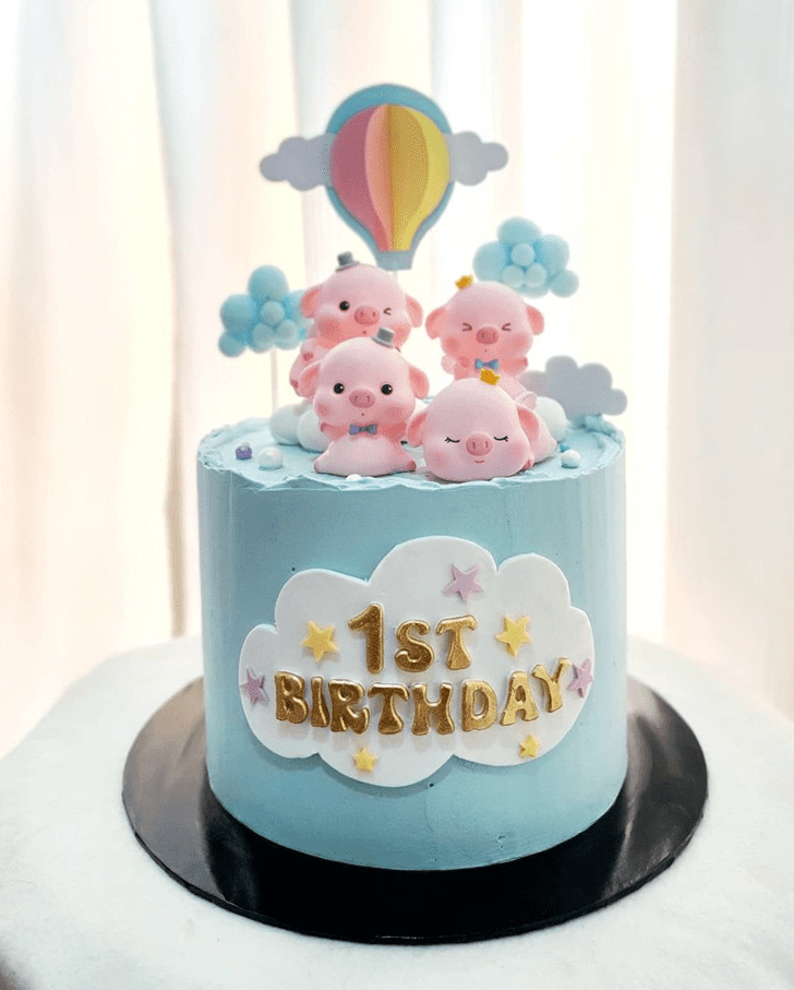 Enticing Piglet Cake