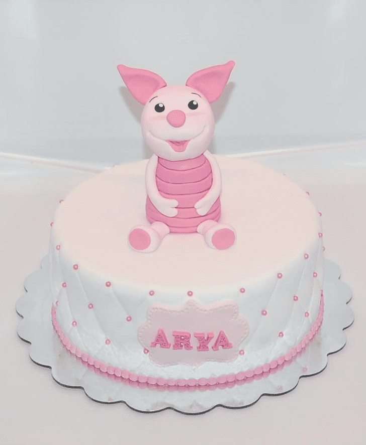 Fair Piglet Cake