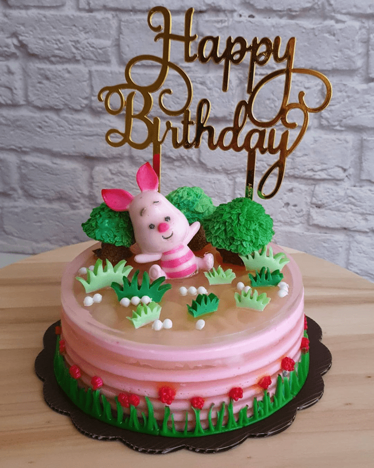 Fascinating Piglet Cake