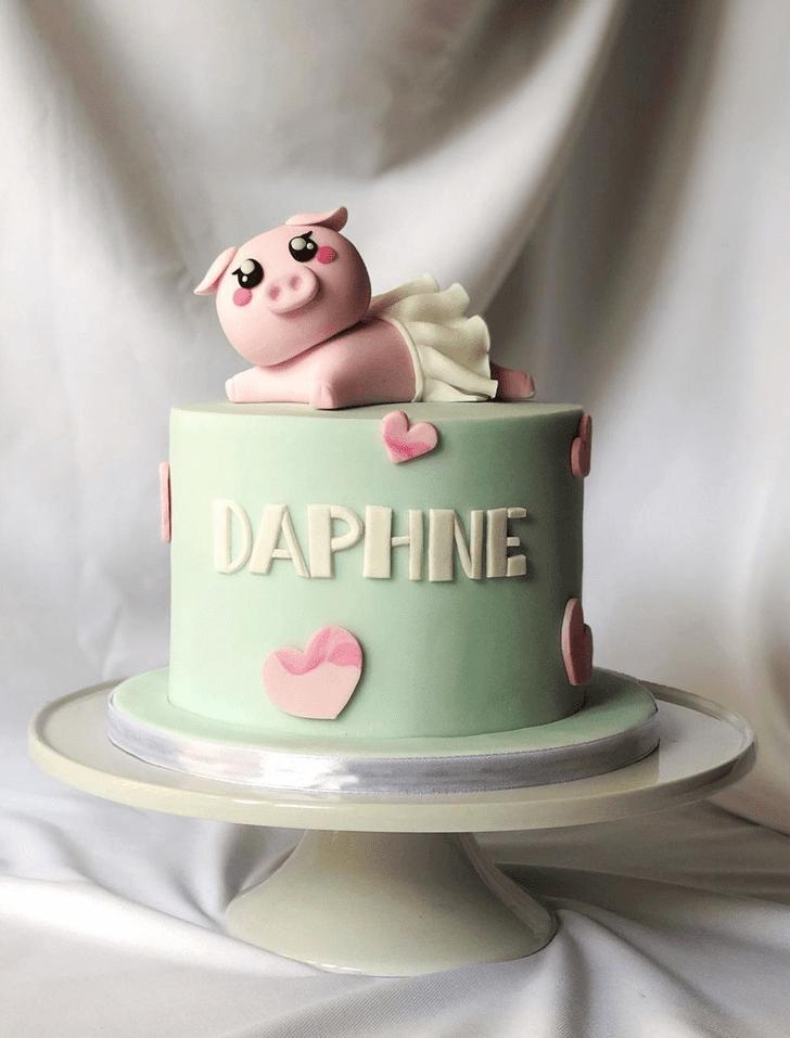 Fetching Piglet Cake