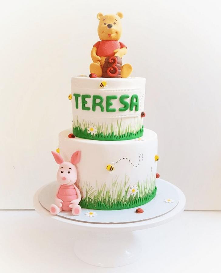 Handsome Piglet Cake