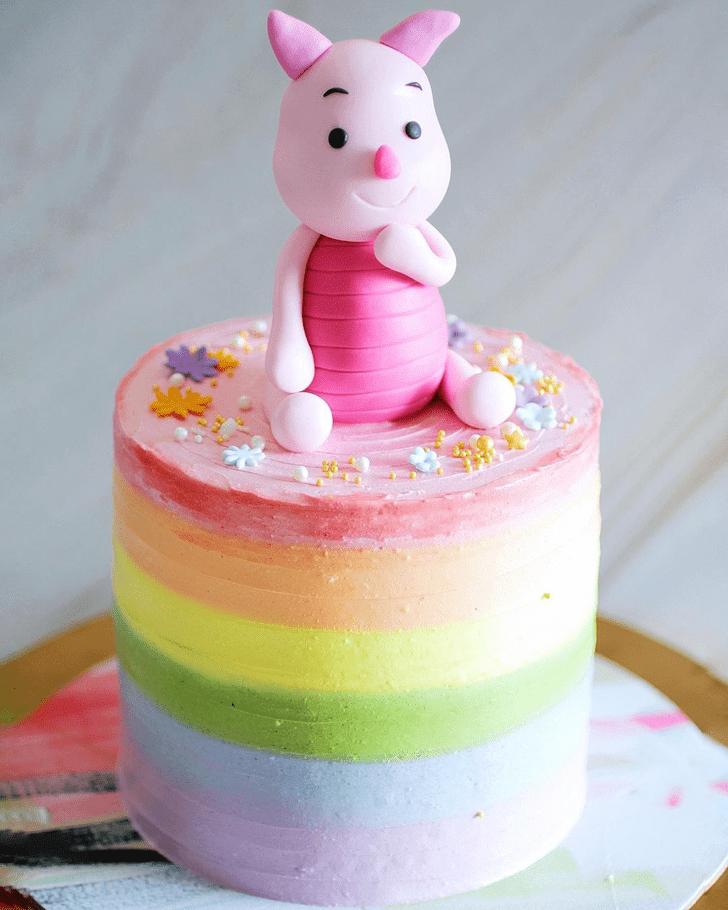 Lovely Piglet Cake Design