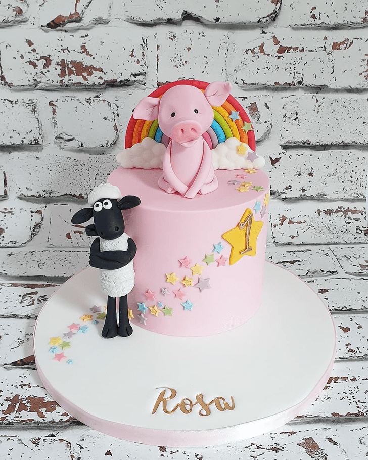 Nice Piglet Cake