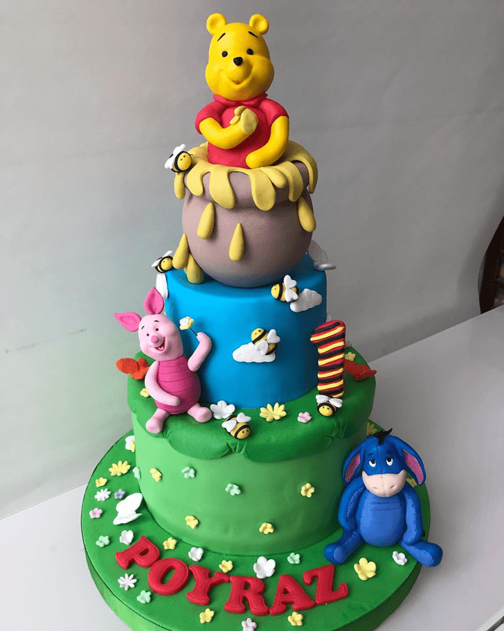 Pretty Piglet Cake