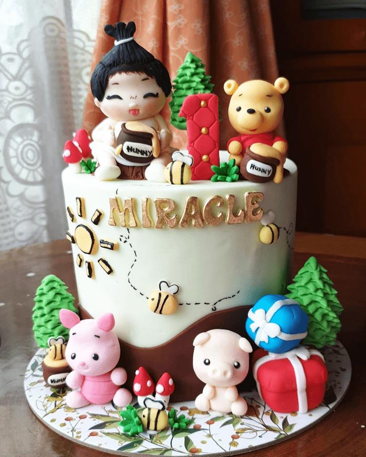 Slightly Piglet Cake