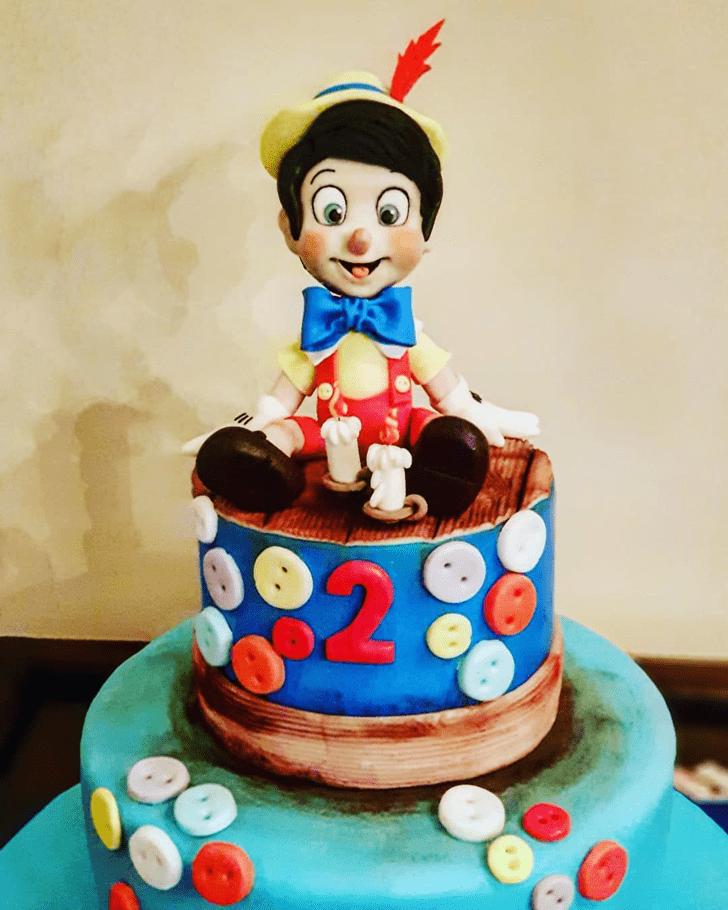 Adorable  Pinocchio Cake