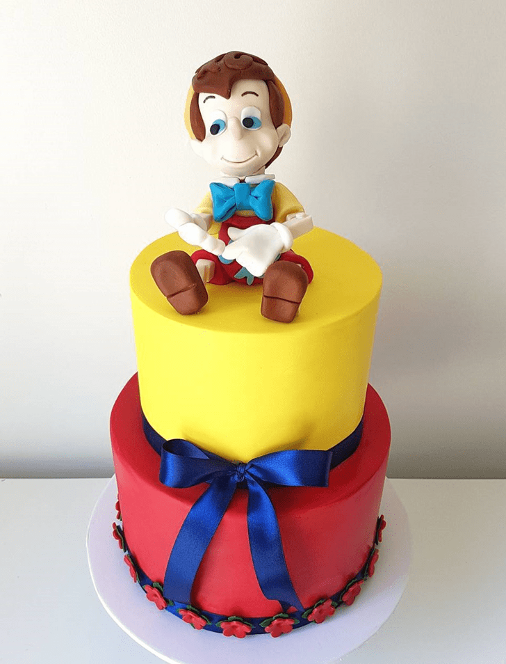 Appealing  Pinocchio Cake