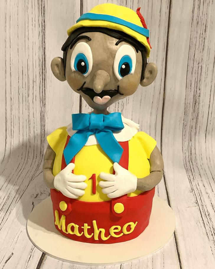 Captivating  Pinocchio Cake
