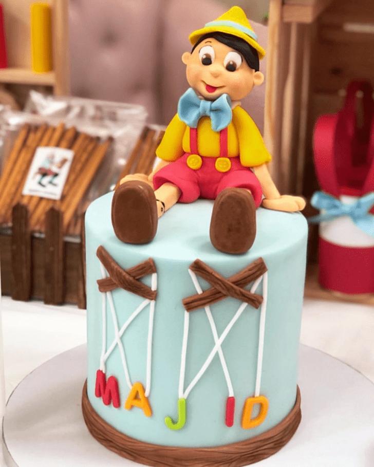 Delicate  Pinocchio Cake
