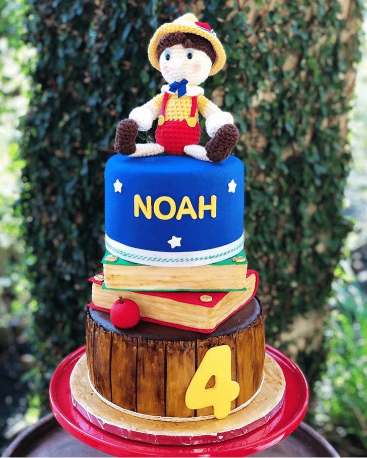 Delightful  Pinocchio Cake