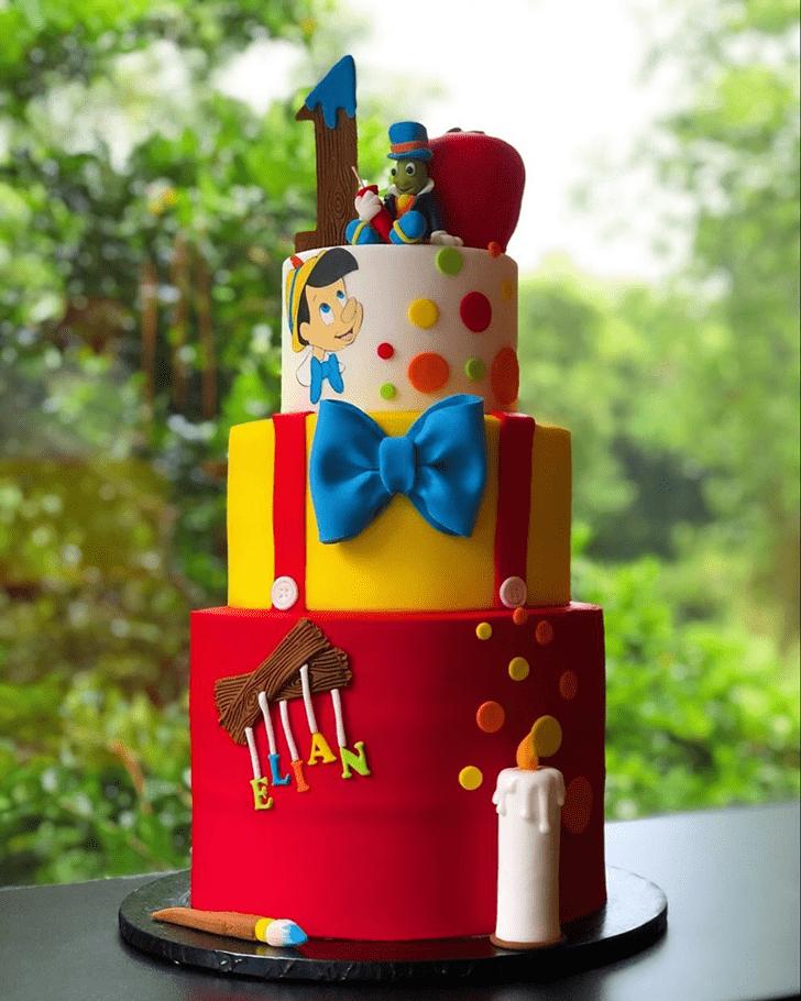Elegant  Pinocchio Cake