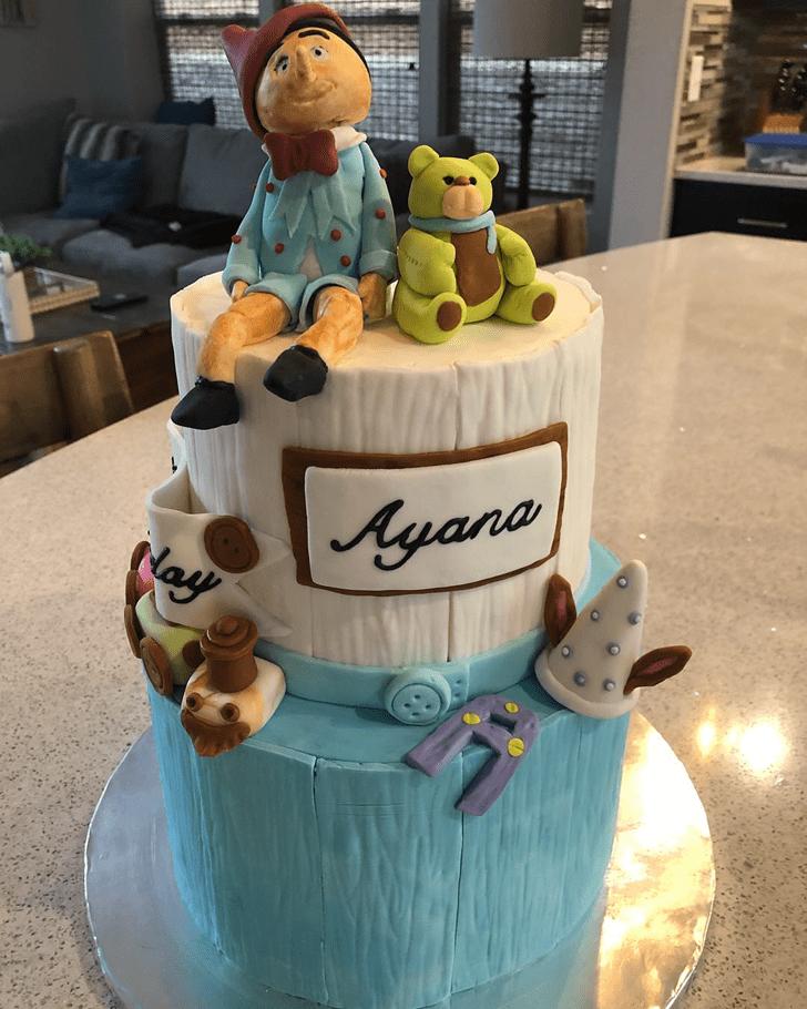 Fair  Pinocchio Cake