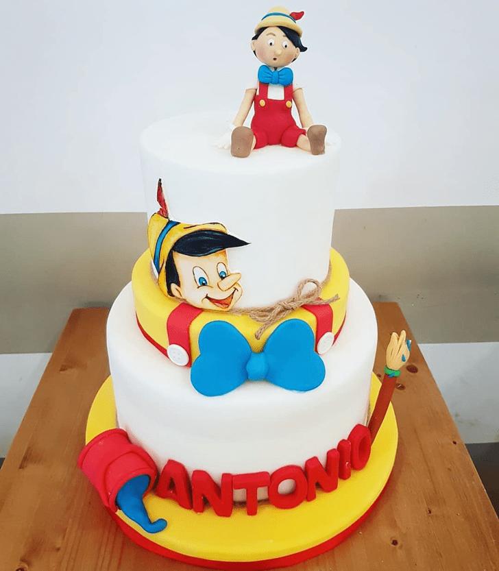 Fascinating  Pinocchio Cake