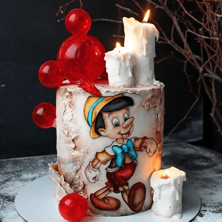 Fetching  Pinocchio Cake