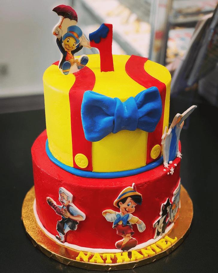 Good Looking  Pinocchio Cake