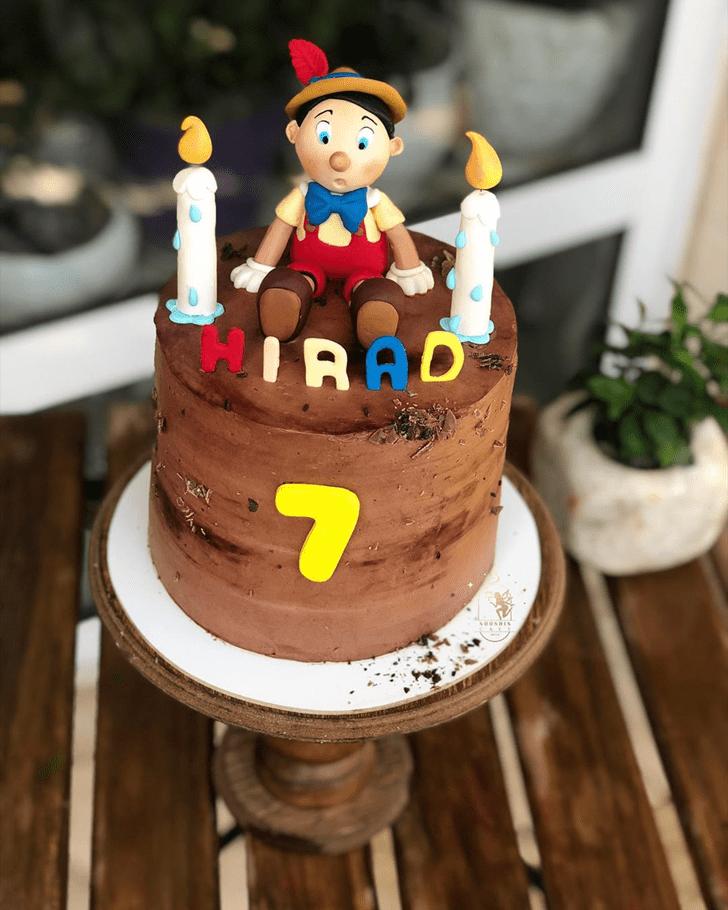 Magnetic  Pinocchio Cake