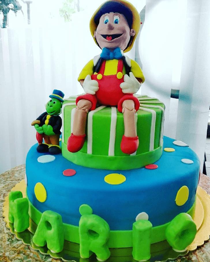 Mesmeric  Pinocchio Cake