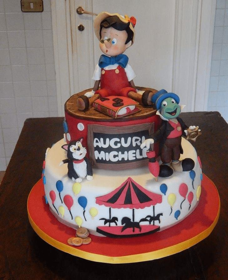 Slightly  Pinocchio Cake