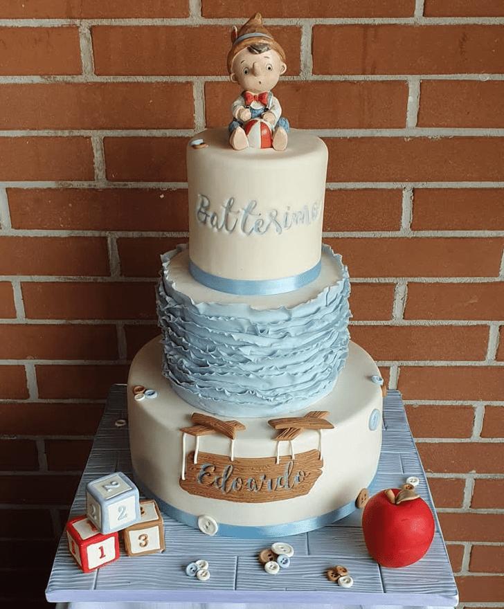 Stunning  Pinocchio Cake