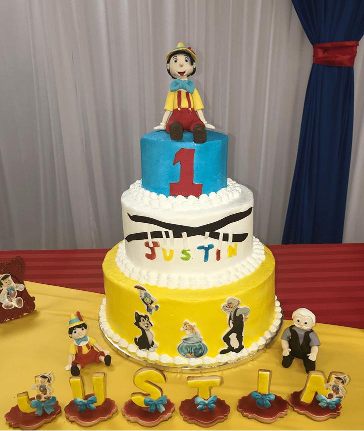 Superb  Pinocchio Cake