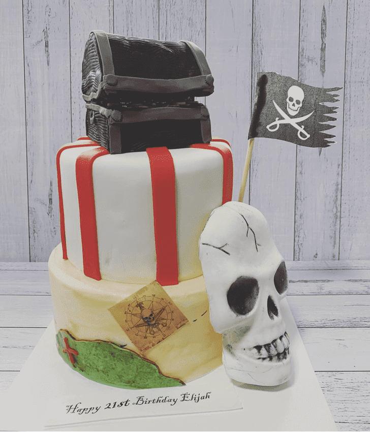 Admirable Pirate Cake Design