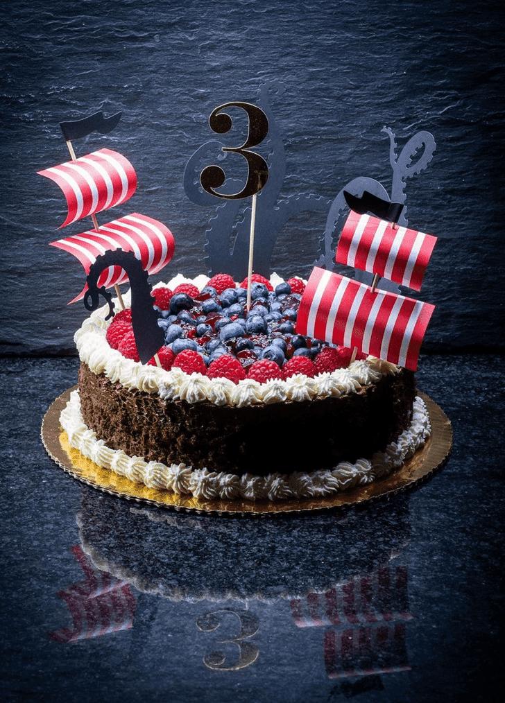 Alluring Pirate Cake