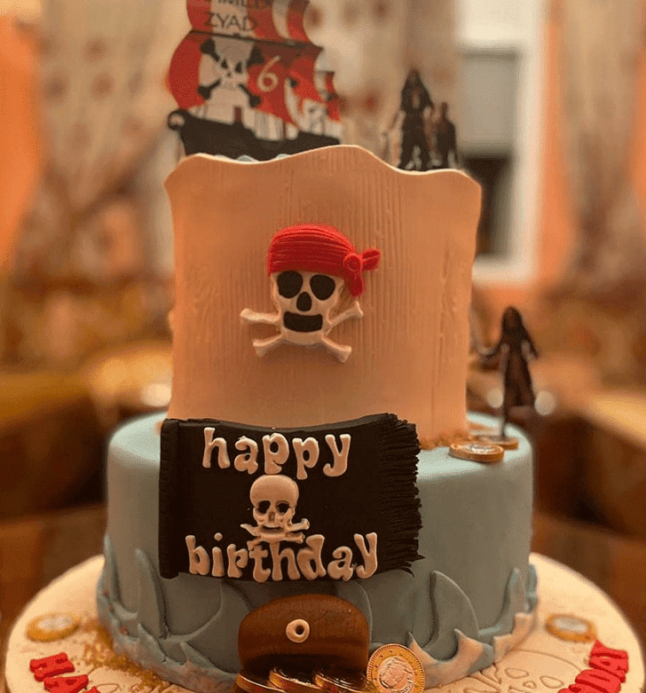 Angelic Pirate Cake
