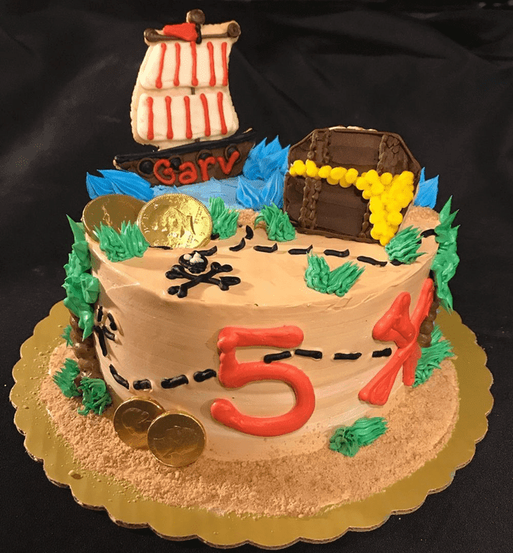 Appealing Pirate Cake