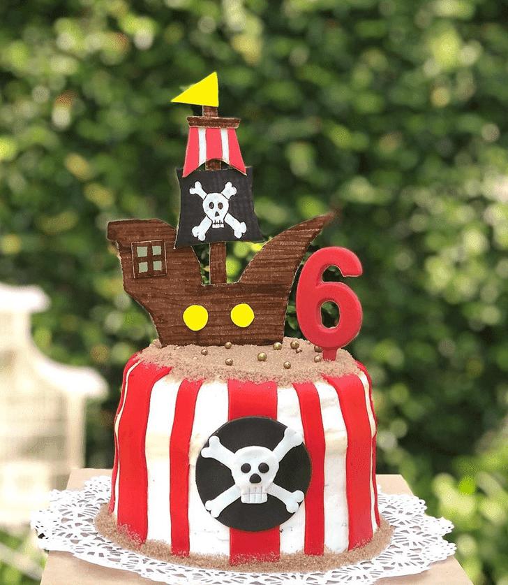 Bewitching Pirate Cake