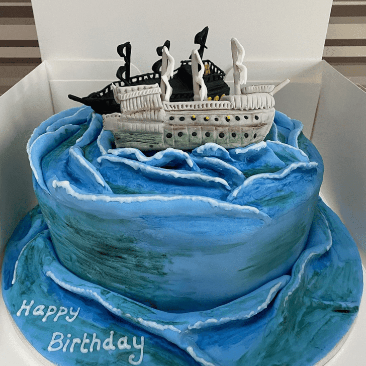 Captivating Pirate Cake