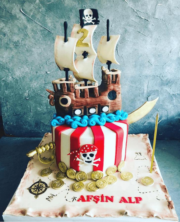 Charming Pirate Cake