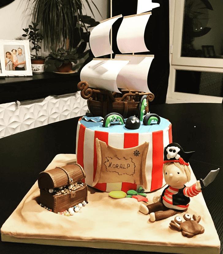 Classy Pirate Cake