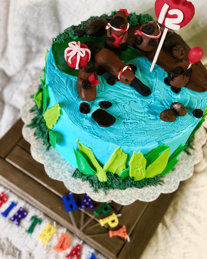 Beauteous Platypus Cake