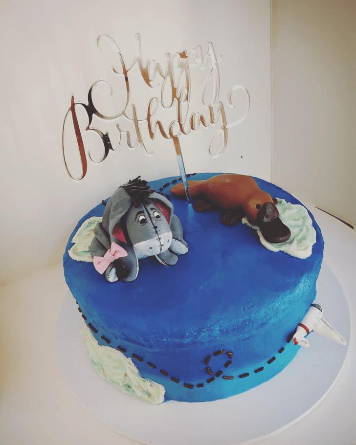 Bewitching Platypus Cake