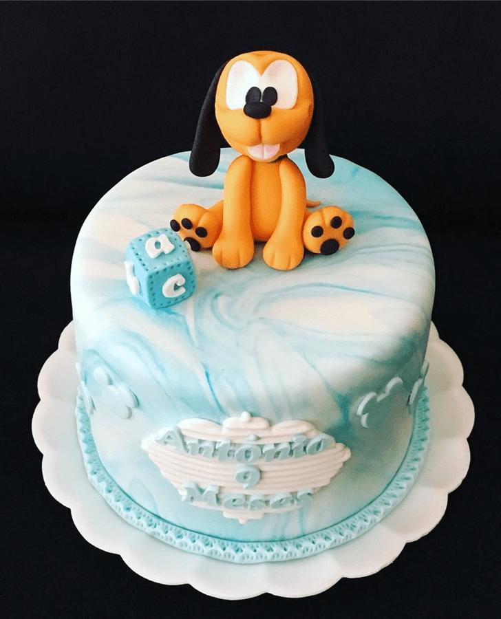 Classy Disneys Pluto Cake