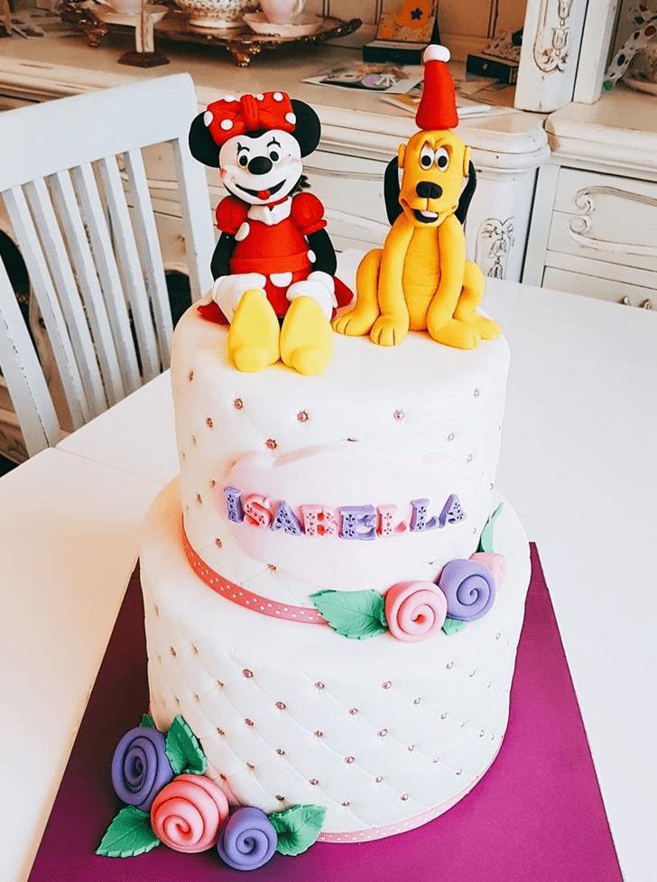 Dazzling Disneys Pluto Cake