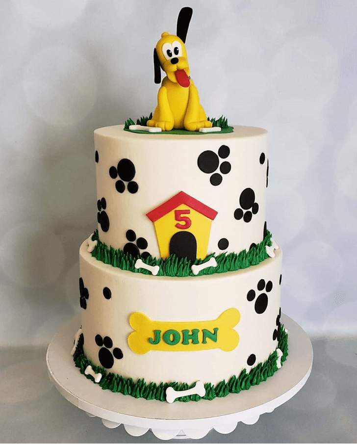 Divine Disneys Pluto Cake