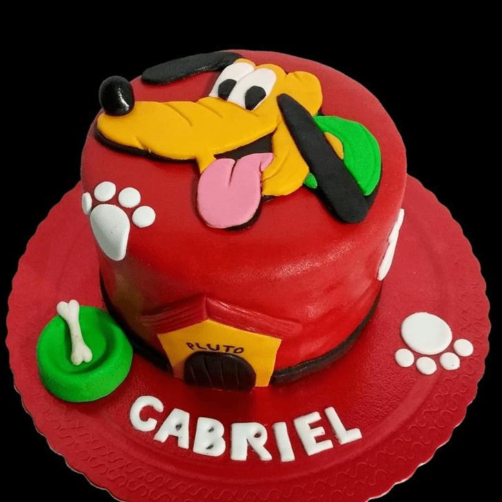 Exquisite Disneys Pluto Cake
