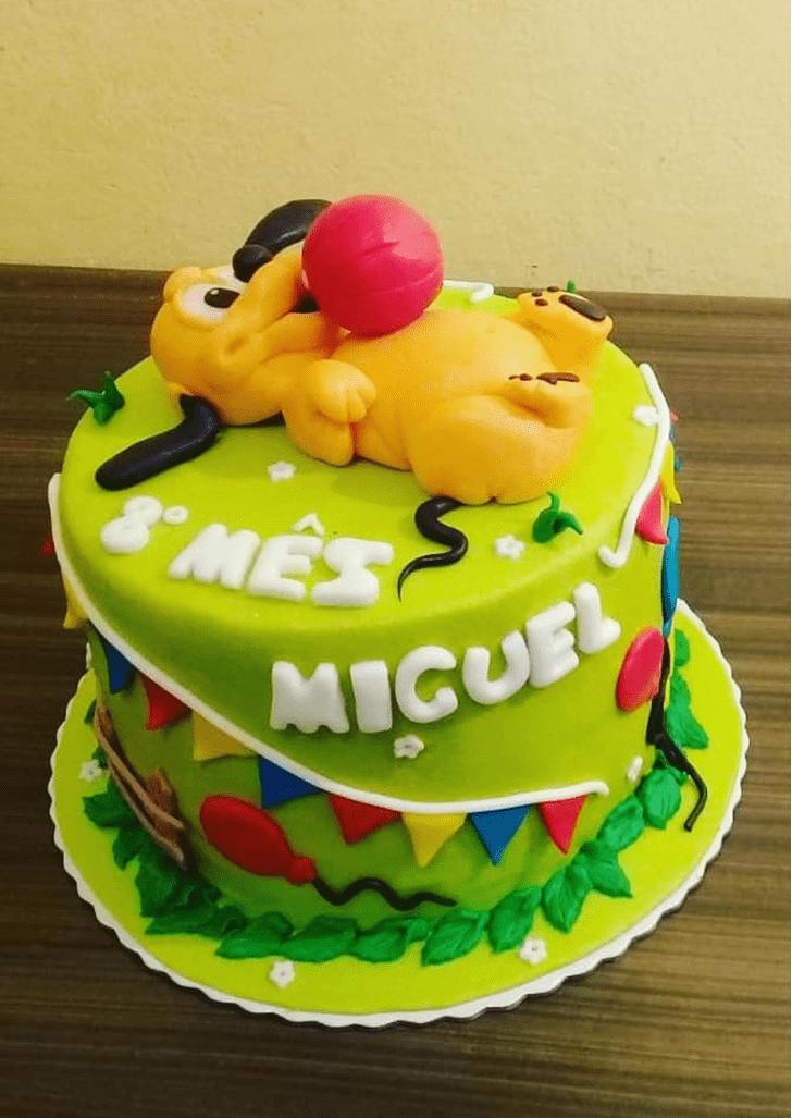 Fetching Disneys Pluto Cake