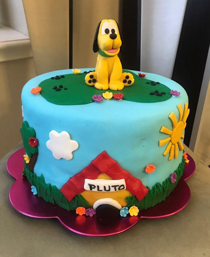 Handsome Disneys Pluto Cake