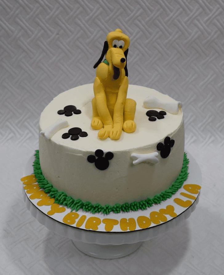 Ideal Disneys Pluto Cake