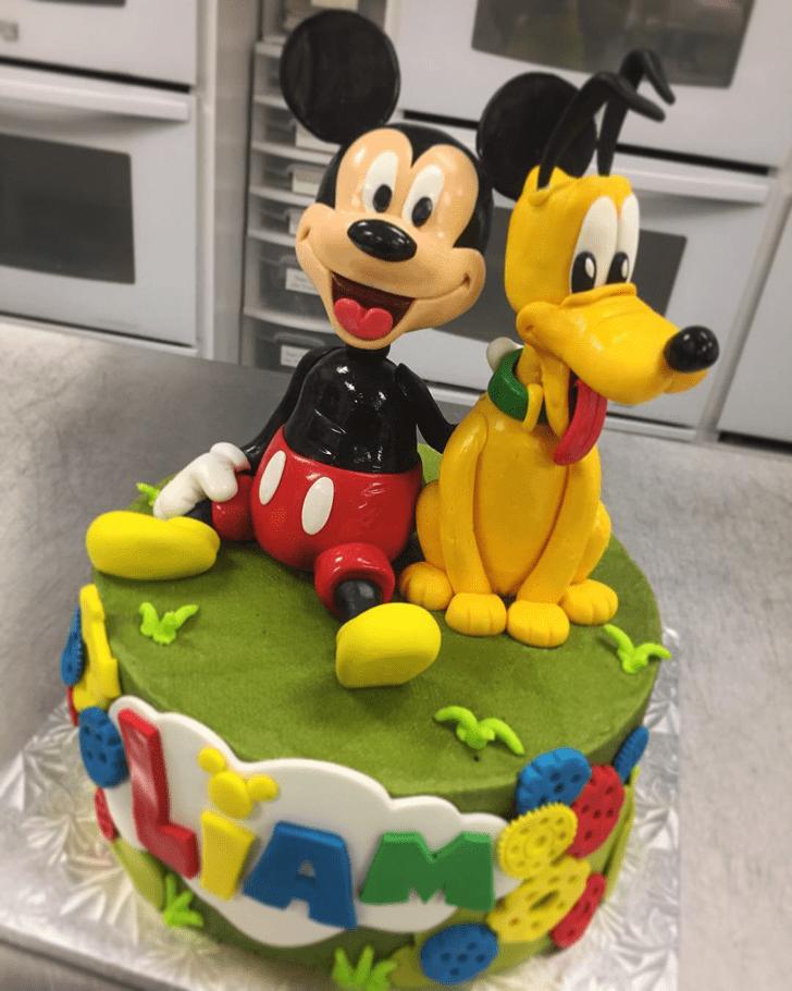 Magnificent Disneys Pluto Cake