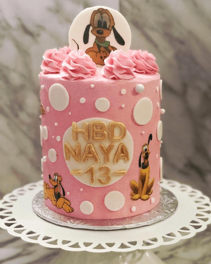 Splendid Disneys Pluto Cake