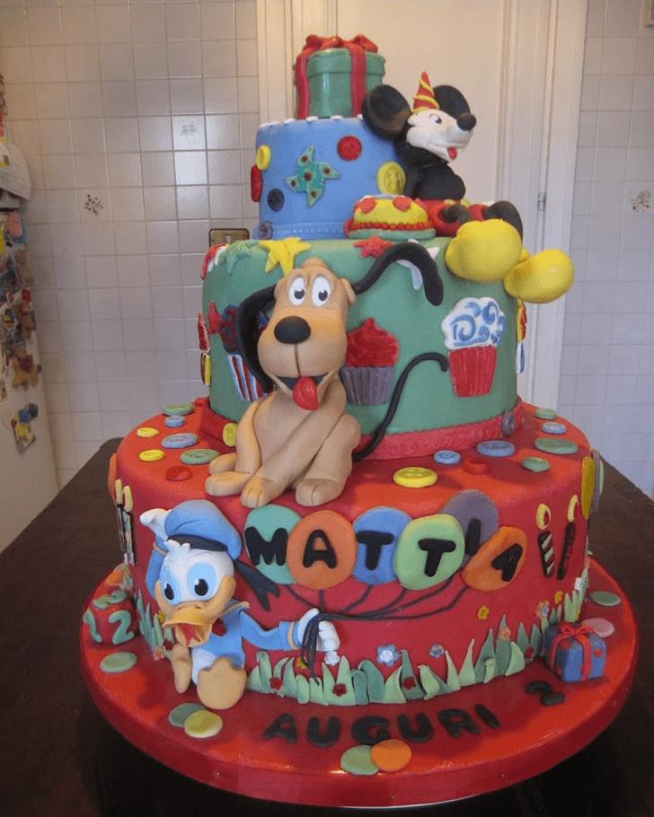 Superb Disneys Pluto Cake