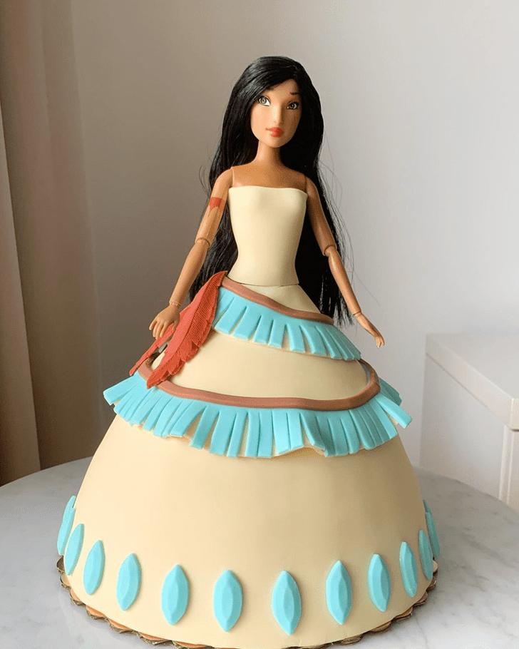 Admirable Pocahontas Cake Design