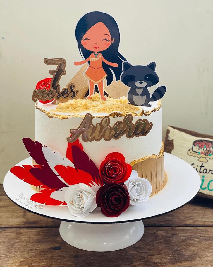 Appealing Pocahontas Cake
