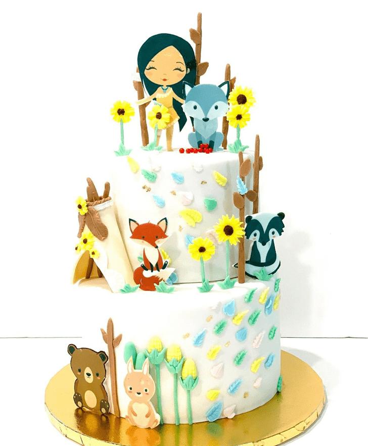 Beauteous Pocahontas Cake