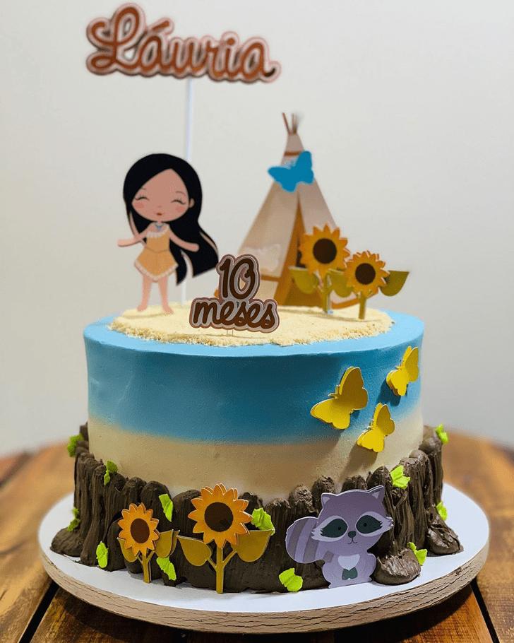 Bewitching Pocahontas Cake