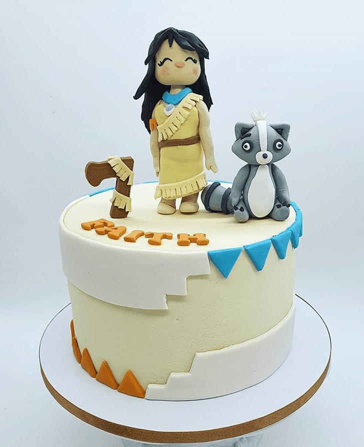 Captivating Pocahontas Cake