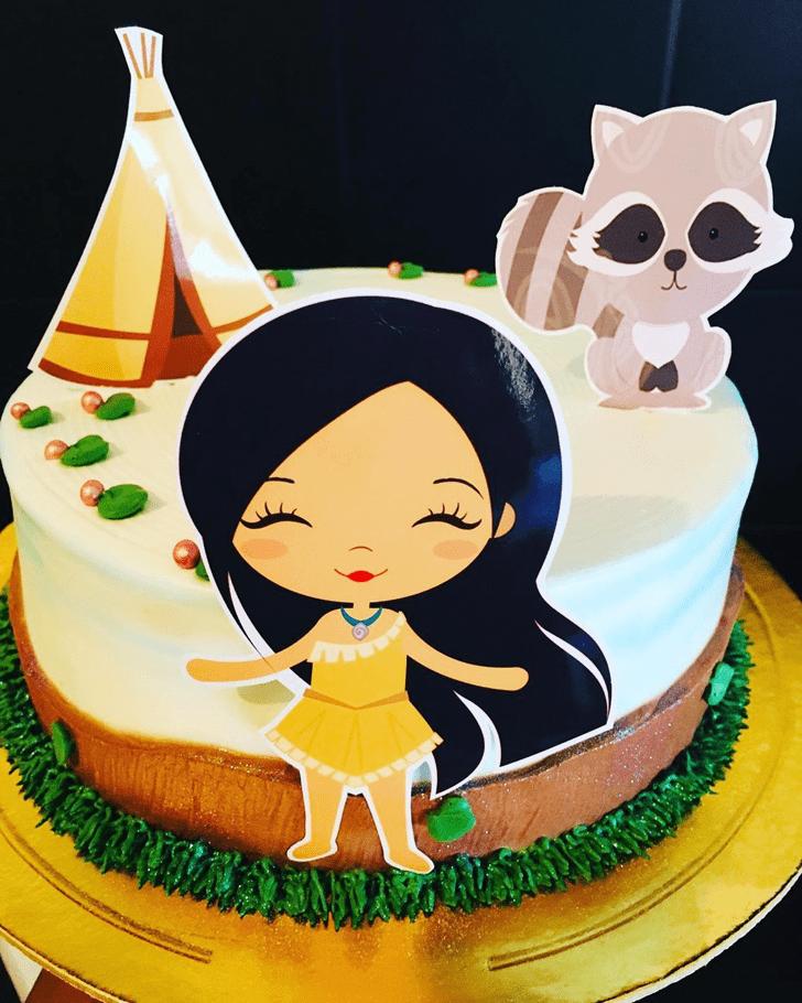 Charming Pocahontas Cake